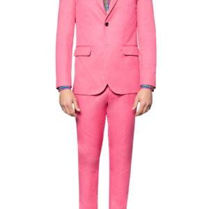 Leo Cotton Blazer Pink