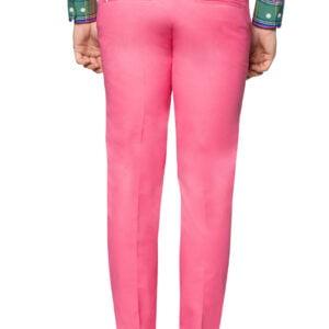 Leo Slim Pleat Pant Pink
