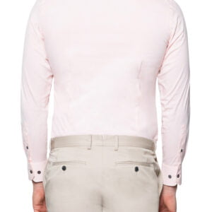 Roy Slim Stretch Shirt Pink