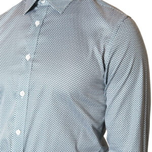 Drake Spot Print Shirt Black/White