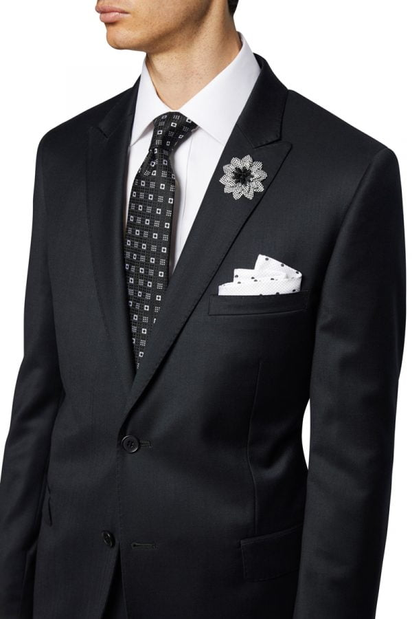 Cole Peak Lapel Jacket Black