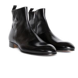 Emilio Zip Boot Black