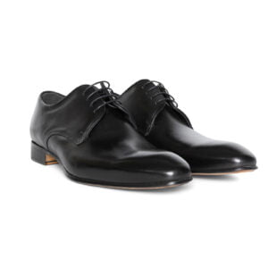 Matteo Lace Up Shoe Black