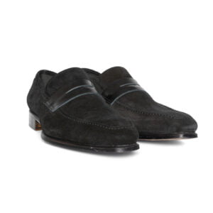 Rafael Suede Loafer Black