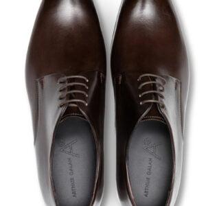 Matteo Lace Up Shoe Dark Brown