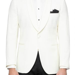 Augustus Ivory Tuxedo Jacket