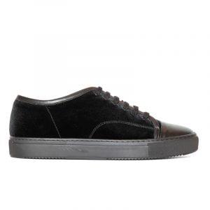 Lex Velvet Sneaker Black