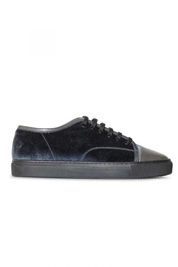 Lex Velvet Sneaker Grey