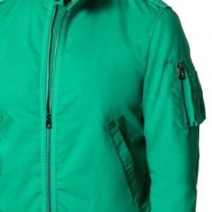 Leo Zip Jacket Green