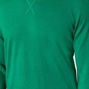 Jake Sport Crew Knit Green
