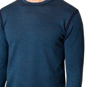 Jake Micro Stripe Knit Blue/Navy