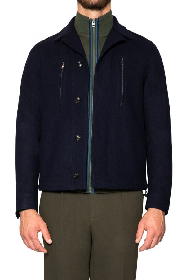 Hinkley Short Coat Navy