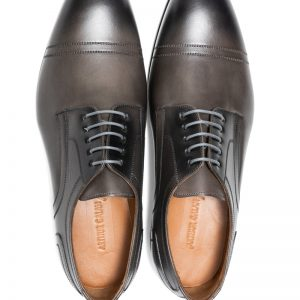 Louis Seamed Lace Up Grey
