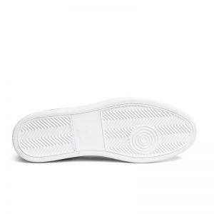 Corey Suede Woven Sneaker WHITE
