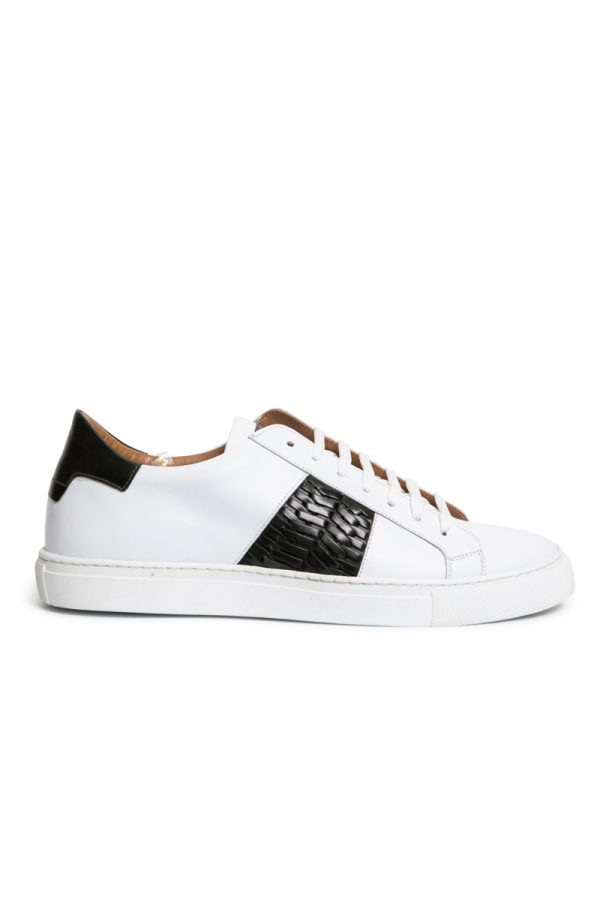Lenny Weave Sneaker WHITE/BLACK