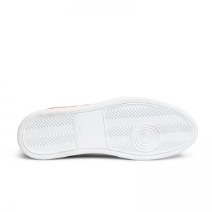 Corey Suede Woven Sneaker ORANGE