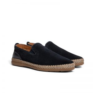 Johnny Perforated Espadrilles NAVY