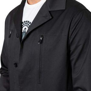 Jay Double Zip Jacket CHARCOAL