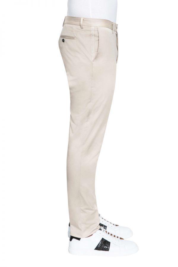 Jay Slim Cotton Stretch Chino BONE