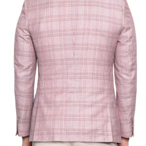 Patrick Check Linen Blazer RUBY