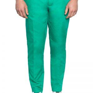 Leo Slim Pleat Pan Emerald