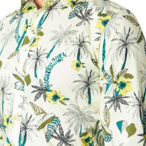 Dane Palm Print LEMON
