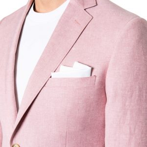 Roscoe Linen Blazer ROSE
