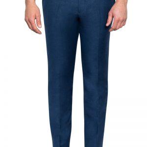 Roscoe Slim Linen Pant Navy